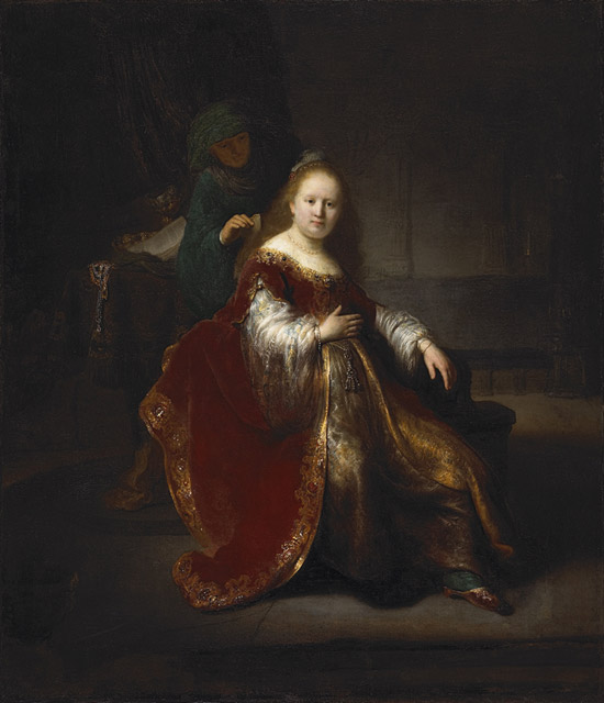 rembrandt circle esther/bathseba