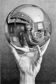 M.C. Escher Selfportrait with reflecting ball